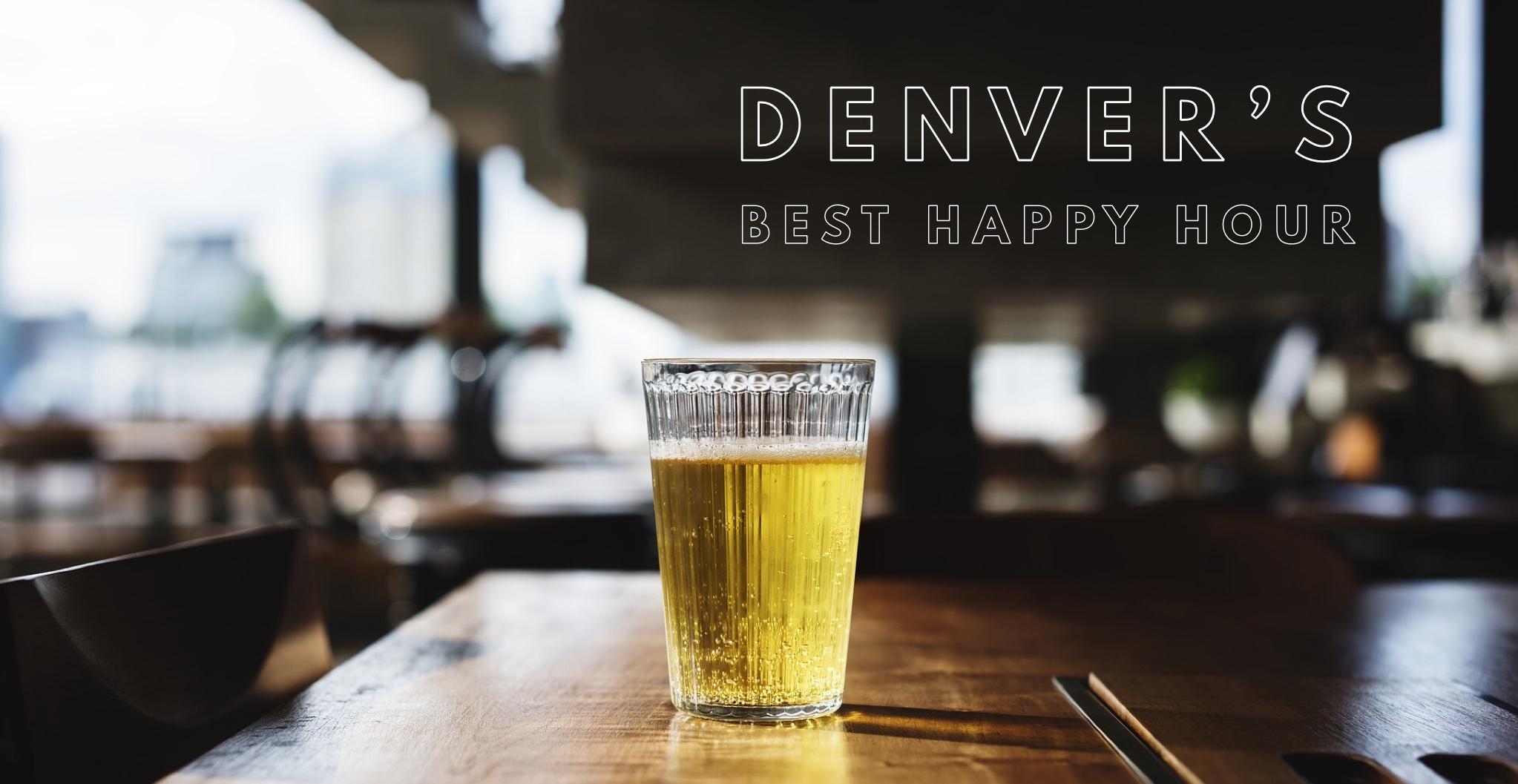 happy hour in denver